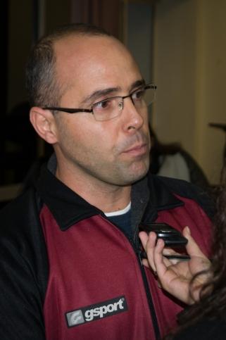 Maurício Bara, diretor técnico da UFJF fala sobre a temporada. _Foto: Lucilia Bortone
