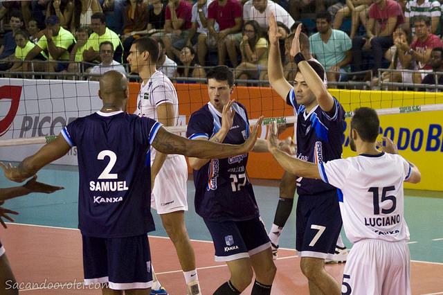 _ Minas vence UFJF fora de casa. (Foto: Lucilia Bortone/ SacandooVôlei.com)