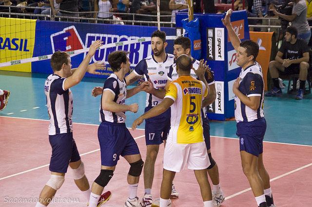Esse foi o quarto confronto das equipes do ano, e a primeira vitória de MOC. ( Foto: Lucilia Bortone)