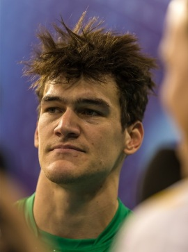 Capitão dos Volleyroos, Tom Edgar não gostou das declarações do capitão iraniano (Foto: FIVb)