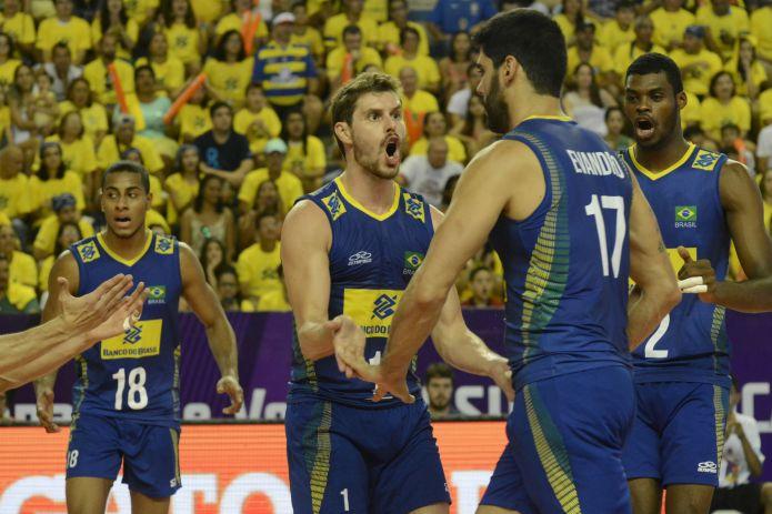 - Brasil está classificado para mais uma final de Sul- Americano. ( Foto: CBV- Confederação Brasileira de Vôlei).