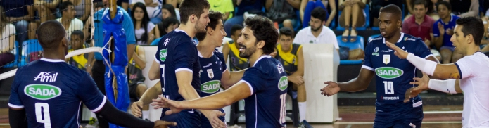 JF Volei 0 x 3 Sada Cruzeiro - 18.09.2015