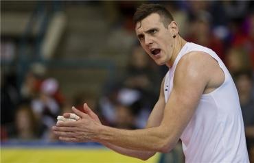 Sofrendo com lesões, Schmitt desfalca a seleção canadense (Foto: FIVb)