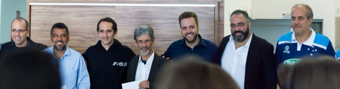 Superliga  JF Vôlei anuncia parceria com Sada Cruzeiro para a temporada  2016 2017 a3c03fa14aca7