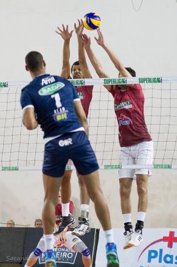 Mineiro 2016 - JF Volei 0 x 3 Sada Cruzeiro - 26.08.2016
