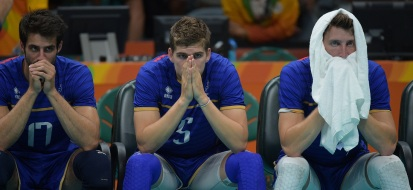 FrenchplayersaftertheireliminationoftheOlympics